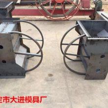 质量兼备【预制隔离墩钢模具】形状、尺寸来图预定加工