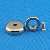 固定器磁铁 钕铁硼磁性吸盘 螺丝螺纹固定器吸盘磁铁 锅磁D16 20 25 32 36 42 48