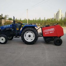 捡拾打捆机 牵引式牧草秸秆捡拾打捆机 麦草打捆机售后有保障参数