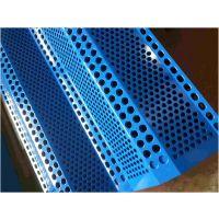 柔性防风抑尘网和金属挡风抑尘墙的区别 价格 哪个效果更好 圆孔三峰
