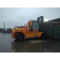 32吨集装箱叉车生产厂家华南重工32吨重型叉车码头堆场专用大型叉车生产基地大量出口32吨叉车