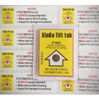 深圳鑫克供应 XinKe Tilt tab防倾倒标签360°内外监控防倾倒标签 物流辅助器材图片