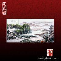 景德镇定制陶瓷壁画 大型装饰壁画