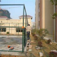 广州学校户外篮球场围网 热镀锌竖管横管焊接安装 塑化挤压颜色亮丽持久