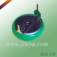 CR2032焊脚电池 带引脚3V纽扣电池