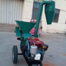 志成530型玉米秸秆粉碎机 大型除尘打糠机 猪饲料草面子机操作简单