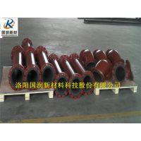 钢衬胶管道的复合管厂家/水泥厂耐磨管