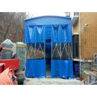 苏州张家港市厂家直售工厂活动雨篷夜市推拉帐棚布大排档活动遮阳蓬