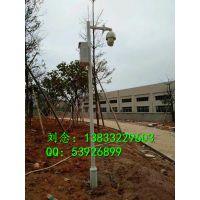 保定3米监控杆、3.5米金属监控立杆、小区摄像机安装立杆杆、