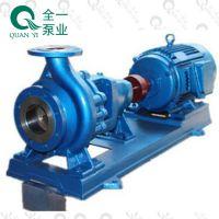 广州全一泵业ISR卧式单级单吸卫生热水循环泵 可配二级能效高效电机