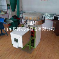 高粱荞麦面粉石磨机 振德牌 粮食加工设备 电动石磨粉机 低价供应