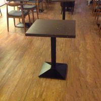 海德利 简约时尚 桌椅厂家直销 港式茶餐厅 全铁脚实木餐桌定制