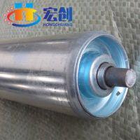 厂家直销|滚筒|镀锌直径38mm尼龙座无动力|广州无动力滚筒|冲压滚筒
