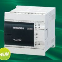 FX3G-24MT/ESS@三菱产品14点入10点出@晶体管源型PLC