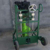 小型农用果树施肥打眼机果树苗移植机 挖坑机