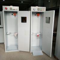 医院气瓶柜 医用氧气气体安全柜 带报警带排风