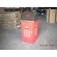 供应广州品木大厦电梯口;地铁站不锈钢双桶垃圾桶