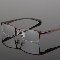 9065 高档商务男士眼镜框 金属半框眼镜架  保时捷同款近视眼镜框