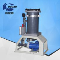 耐酸碱铬酸过滤机 化学镍过滤机JF-1004电镀双桶活性碳