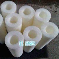 打码机防尘海绵柱子空心高密度海绵管打印机吸墨海绵管