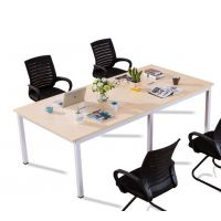 广州会议桌办公家具会议长桌会议桌椅组合简约现代条形桌洽谈桌