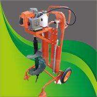 电线杆螺旋钻眼机 富兴建筑挖坑机 硬土质地钻挖坑机厂家