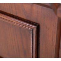 诗尼曼卧室定制家具,美式风格全实木框架床