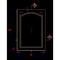 橱衣柜门板设计生产软件