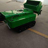 履带式开沟回填机 启航开沟培土机 低矮型犁地除草机