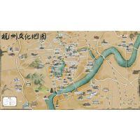 微景区|麦扑小鹿导游(图)|微景区手绘地图哪家有