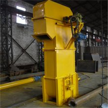 汇众链条钢斗式提升机 水泥粉挖斗式上料机 高效垂直装罐送料机
