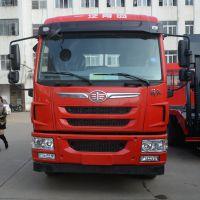 放价大促销2.0L解放龙V挖机平板拖车单桥15吨挖机拖车