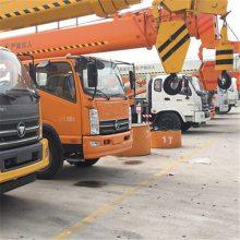 九州销售唐骏国五 十吨吊车 大臂6节和5节的汽车吊车