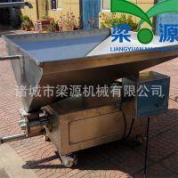 千页豆腐供料机生产加工机器高效食品泵浦机设备厂家直供