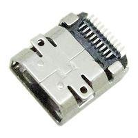 WF插座 HDMI-219D 外形尺寸:6.5mm*7.5mm*2.9mm