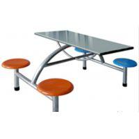 阜阳鸿鑫文体销售学校单位食堂餐桌 1.2*60规格 不锈钢餐桌 玻璃钢餐桌 快餐桌销售价格地址