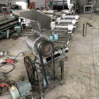 大型商用螺旋榨汁机 不锈钢水果压榨机 生产柠檬榨汁机价格