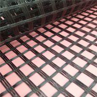 广东双向玻纤格栅国标50kn 80kn沥青路用玻璃纤维土工格栅厂家