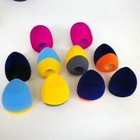 麦克风海绵套 双杀植绒话筒麦克风套 贴logo电台标海绵套生产厂家