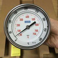 WIKA双金属温度计 en13190温度计 进口不锈钢温度计A52 R52径向/轴向