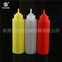 1L带盖塑料尖嘴瓶 番茄酱塑料瓶 1000ml毫升 食品包装瓶