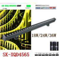 璨华照明SK-XQD4565款的18WLED洗墙灯生产工厂景观照明亮化