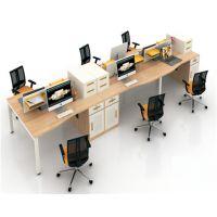 朗哥家具 职员桌 办公卡位 屏风办公桌 办公家具厂家直销30