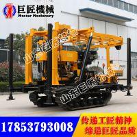 华夏巨匠批发XYD-180履带式岩心钻机发货快液压勘探钻机价格实惠
