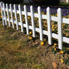 弧形花园围栏 山东草坪护栏 草坪花园围栏