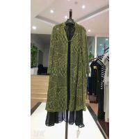 北京动物园服装批发市场品牌折扣女装秋装上海品牌创格17春秋大衣多种面料多色供选