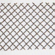 矿筛轧花网厂家 锰钢丝轧花网 编织网筛片