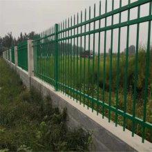 砌墙上锌钢围栏 围墙刀片刺网护栏 常熟锌钢围墙护栏