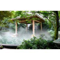 华南地区假山水池雾喷设备园林冷雾工程