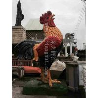 厂家直销 动物雕像 仿真公鸡 仿真动物 创意工艺品